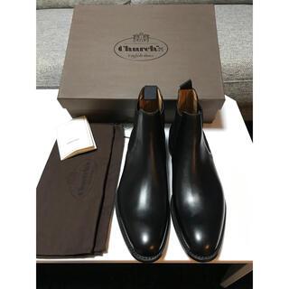 チャーチ(Church's)の新品未使用 Church's チャーチ サイドゴア ブーツ 黒 Uk 7.5(ブーツ)