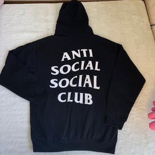 アンチ(ANTI)のANTI SOCIAL SOCIAL CLUB パーカー ブラック(パーカー)