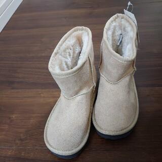 ベベ(BeBe)の新品 BeBeNoeil ムートンブーツ 17センチ(ブーツ)