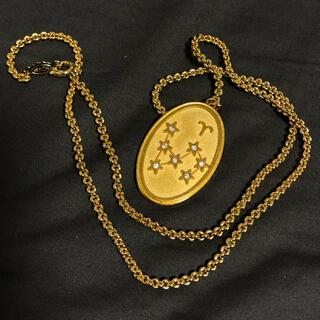 ロキエ(Lochie)の星座 ゴールド ヴィンテージ ネックレス(ネックレス)