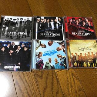 ジェネレーションズ(GENERATIONS)のGENERATIONS シングルセット ★値下★(ポップス/ロック(邦楽))
