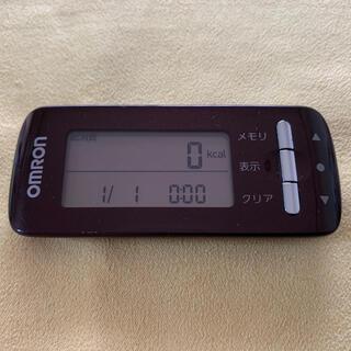 オムロン(OMRON)のオムロン 活動量計 HJA-306-BW カロリスキャン(ウォーキング)