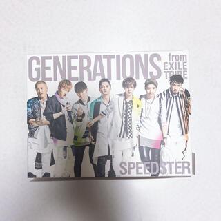 ジェネレーションズ(GENERATIONS)のSPEEDSTER(初回生産限定/DVD(3枚組)付)(ポップス/ロック(邦楽))