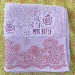ピンクハウス(PINK HOUSE)のピンクハウスハンドタオルP刺繍 (タオル/バス用品)