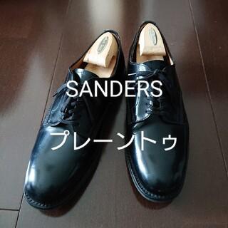 サンダース(SANDERS)のSANDERS プレーントゥ ミリタリーダービーシューズ 1384B サンダース(ドレス/ビジネス)