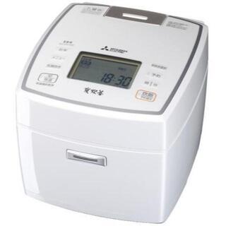 ミツビシデンキ(三菱電機)の新品未使用三菱電機 IHジャー炊飯器 NJ-VV109 ホワイト(炊飯器)