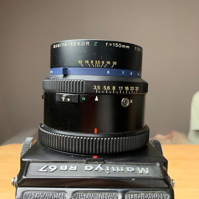 USTMamiya(マミヤ)のマミヤMamiya RZ67 150mm F3.5 付属多数あります スマホ/家電/カメラのカメラ(フィルムカメラ)の商品写真