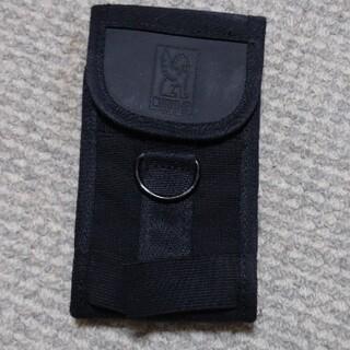 クローム(CHROME)のCHROME スマホホルダー ブラック(メッセンジャーバッグ)