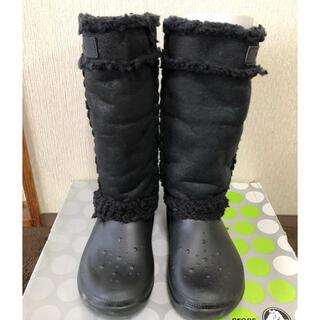 クロックス(crocs)のcrocs クロックス ボア付きブーツ 箱付(ブーツ)