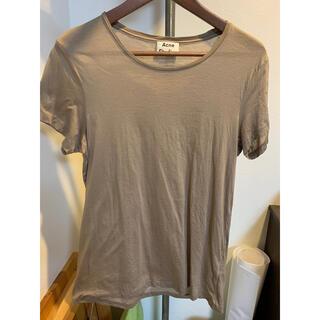 アクネ(ACNE)のAcne Studios Tシャツ グレー standard o XXS(Tシャツ/カットソー(半袖/袖なし))