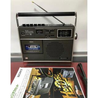 ソニー(SONY)のSONYソニーCF-1765カセットコーダーFM / AMラジ全てベルト交換、(ラジオ)