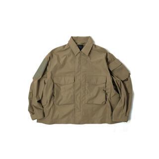 ワンエルディーケーセレクト(1LDK SELECT)の20fw 新品 greige M daiwa mil field jacket(ブルゾン)