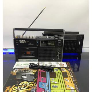 ソニー(SONY)のソニーCF-1900F&Fヘッドを搭載 ULMスピーカー高級ラジカセとても綺麗(ラジオ)