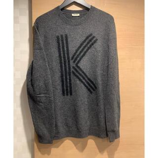 ケンゾー(KENZO)のkenzo k logo wool knit ケンゾー ロゴニット(ニット/セーター)