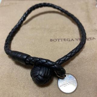 ボッテガヴェネタ(Bottega Veneta)のボッテガヴェネタ 革製 イントレチャート ブレスレット(ブレスレット)