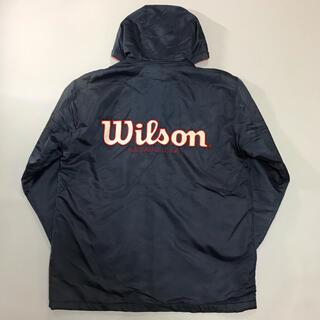 ウィルソン(wilson)のWilson ウィルソン ベンチコート ナイロンジャケット スポーツ ビッグロゴ(ナイロンジャケット)