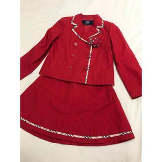 バーバリー(BURBERRY)の美品 バーバリー ロンドン セットアップ 130cm ジャケット スカート(ドレス/フォーマル)