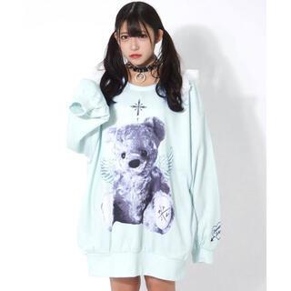 ミルクボーイ(MILKBOY)のTRAVAS TOKYO Angel bear Shoulder スウェット(トレーナー/スウェット)