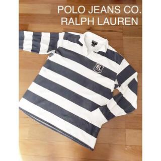 Ralph Lauren - こなれたダメージカラーがお洒落で1枚で決まる!背番号の後ろ姿も可愛いラガー