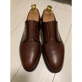 ユナイテッドアローズ(UNITED ARROWS)の新品 ジャランスリワヤ 41 ブラウン 紐付き(ローファー/革靴)