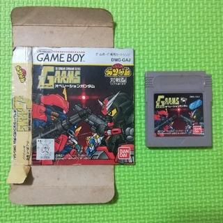 ゲームボーイ(ゲームボーイ)のSDガンダム G-ARMS ジーアームズ オペレーションガンダム ゲームボーイ(家庭用ゲームソフト)