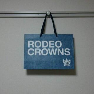 ロデオクラウンズ(RODEO CROWNS)のRODEO CROWNSショップ袋(ショップ袋)