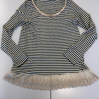 フランシュリッペ(franche lippee)のフランシュリッペ⭐︎長袖Tシャツ⭐︎裾フリフリ(Tシャツ(長袖/七分))