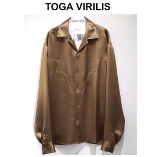 トーガ(TOGA)のTOGA VIRLIS サテン ウエスタンシャツ タグ付き(シャツ)