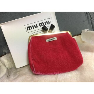 miumiu - 最終値下げミュウミュウポーチコインケース小物入れ
