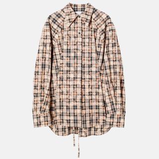 ルシェルブルー(LE CIEL BLEU)のアイレネのチェックシャツ(シャツ/ブラウス(長袖/七分))