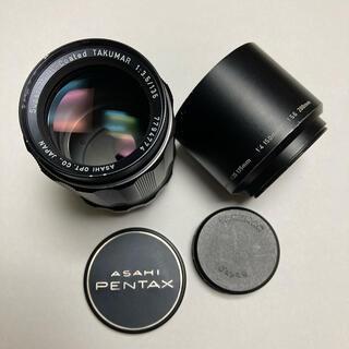 ペンタックス(PENTAX)の美品 M42銘玉 SMC TAKUMAR 135mm F3.5 純正付属多数(レンズ(単焦点))