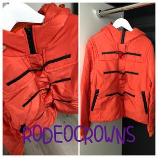 ロデオクラウンズ(RODEO CROWNS)のRCS ★  ダウン ダッフル オレンジ(ダウンジャケット)