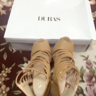 DURAS(デュラス)のDURAS サンダル Sサイズ レディースの靴/シューズ(サンダル