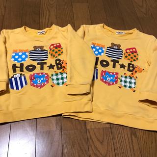 ホットビスケッツ(HOT BISCUITS)のMIKIHOUSE トレーナー❤✨(Tシャツ/カットソー)