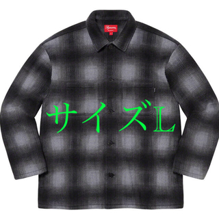 シュプリーム(Supreme)のLサイズ Supreme Shadow Plaid Fleece Shirt (その他)