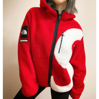 シュプリーム(Supreme)のSupreme North Face Slogo Fleece jacket(その他)
