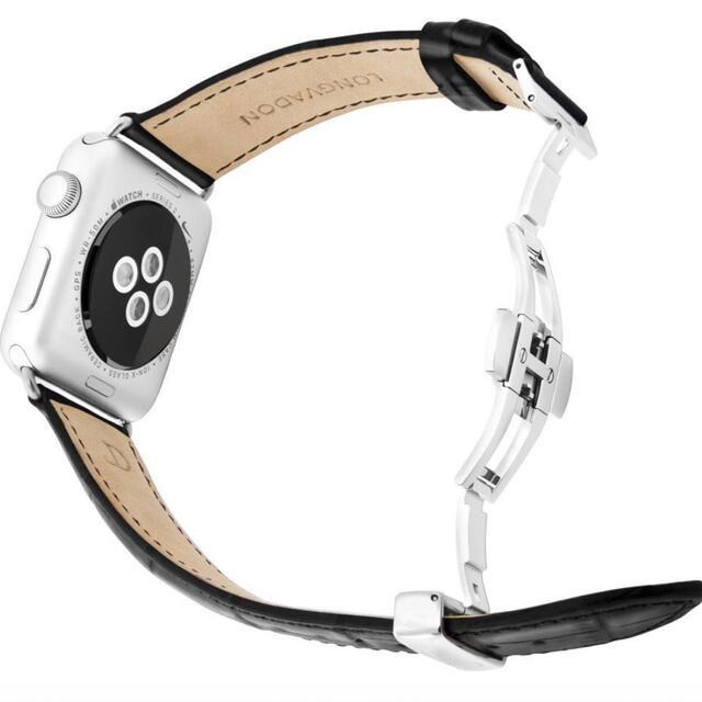 【最終値下げ】LONGVADONAppleWatchカイマンシリーズ 40mm メンズの時計(腕時計(デジタル))の商品写真