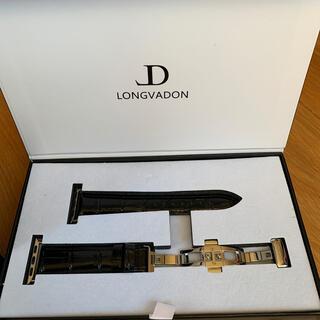 【最終値下げ】LONGVADONAppleWatchカイマンシリーズ 40mm(腕時計(デジタル))