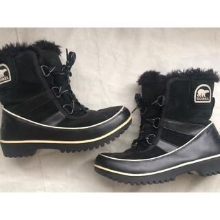 ソレル(SOREL)の👢黒いソレルブーツ👢(ブーツ)