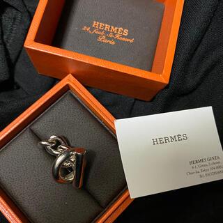 Hermes - HERMES エルメス クロワゼットGM リング シルバー 56号