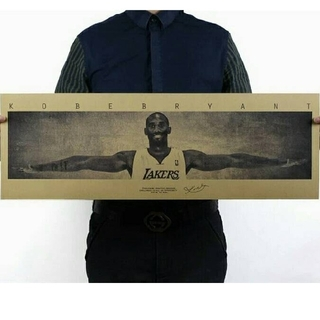 ◎新品超特価◎✧大人気◈NBAウイングポスター✯コービー・ブライアント✯(バスケットボール)