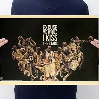 ♬新品超特価◈大人気MIXポスター:LA.レイカーズ✡コービーブライアント□(バスケットボール)