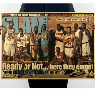 ◎新品超特価◎特大ポスター1996年◎NBAドラフトKOBE&スタールーキー〃(バスケットボール)