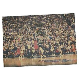 ◎新品超特価◎NBAポスター✖シカゴブルズ≡№23✨ジョーダン✚ラストショット✨(バスケットボール)