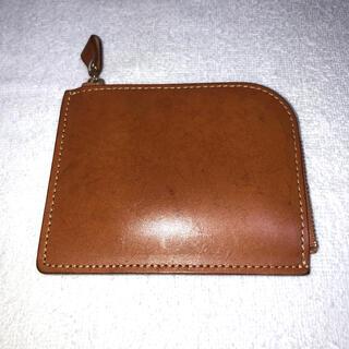 ツチヤカバンセイゾウジョ(土屋鞄製造所)の中古 土屋鞄 L字ファスナー財布 コンパクト財布 使用感あります(コインケース/小銭入れ)