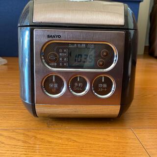 サンヨー(SANYO)の3合炊き炊飯器(炊飯器)