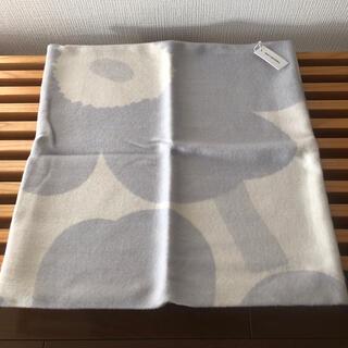 marimekko - マリメッコ ウニッコ クッションカバー 50×50cm ホワイト/ライトグレー