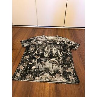 ジャンポールゴルチエ(Jean-Paul GAULTIER)のゴルチエ Tシャツ 楽園 パラダイス エデン フラミンゴ 白黒 モノトーン(Tシャツ/カットソー(半袖/袖なし))