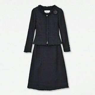ルネ(René)のRENE☆新品セットアップスーツ 34 ネイビーリントン シャネルツイード(スーツ)