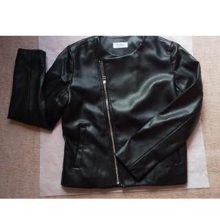 ワールドベーシック(WORLD BASIC)のジャケット(ノーカラージャケット)